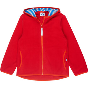 Finkid Paukku Jacke Kinder red/grenadine